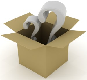 box-and-question