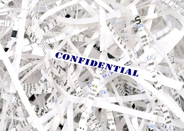 confidential shredding for homes and business